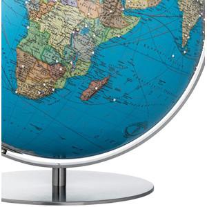 Columbus Globus Duo Swarovski Edelstahl matt 40cm