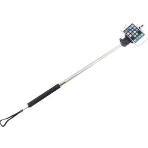 Monopiede Aluminio Selfie-Stick für Smartphones und kompakte Fotokameras, pink
