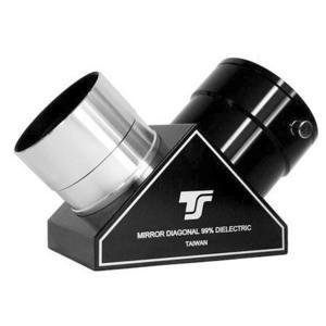 TS Optics Prisma diagonalel 90°,  rivestimento dielettrico,  protezione al quarzo 2''
