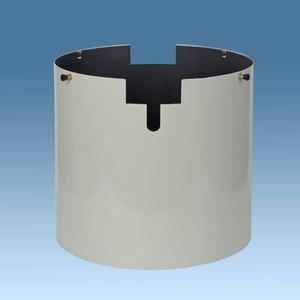Astrozap Feste Taukappe für C14 Hyperstar weiß