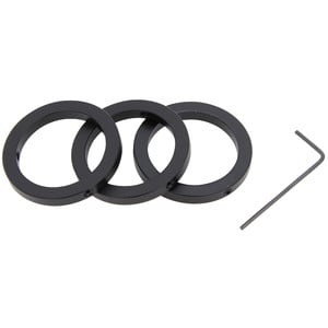 Omegon 1.25'' parfocal clamping rings (set of 3)