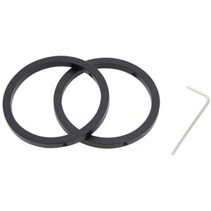 Omegon 2'' homofocal clamping rings (set of 2)