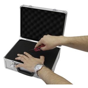Omegon maletín grande de aluminio