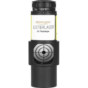 Omegon Justier-Laser Newton 1,25'' mit Sichtfenster