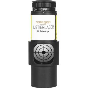 """Omegon Kolimator laserowy Laser justujący 1,25"""" do teleskopów Newtona, wyposażony w okno obrazowe"""