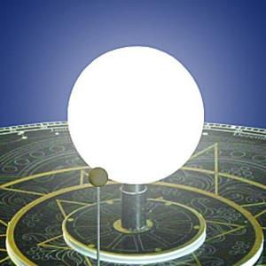Kit AstroMedia Soleil de rechange pour planétarium Kopernikus