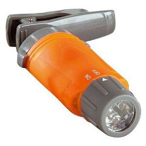 Bresser Lampe de poche LED lumière blanche