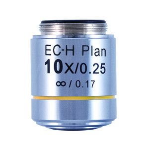 Motic Obiettivo CCIS Plan Acromatico EC-H PL 10x/0,25 (AA = 17,4 mm)