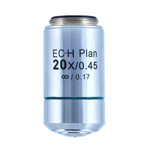Motic Obiettivo CCIS Plan Acromatico EC-H PL 20x/0,45 (AA = 0,9 mm)
