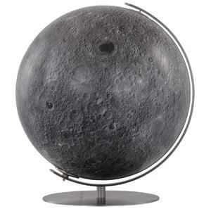 Columbus Globo Mappamondo lunare 40 cm, rifinito a mano