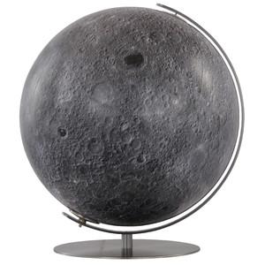 Columbus Moon globe, 40cm, hand finished