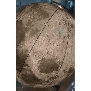 Columbus Globo Mappamondo lunare 51 cm, rifinito a mano