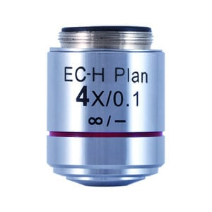 Motic CCIS EC-H PL 4x / 0.1 (WD = 15.9mm) plan-achromatic objective