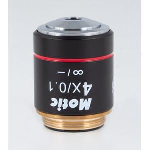 Motic Obiettivo CCIS Plan Acromatico EC-H PL 4x/0,1 (AA = 15,9 mm)