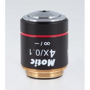 Objectif Motic CCIS plan achromatique EC-H PL 4x/0.1 (AA=15.9mm)