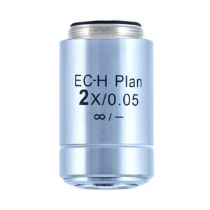 Motic Obiettivo CCIS Plan Acromatico EC-H PL 2x/0,05 (AA = 7,2 mm)