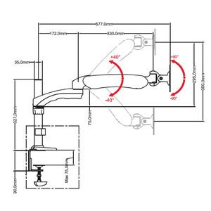 Optika Base industriel Trípode SZ-STL5 para serie modular