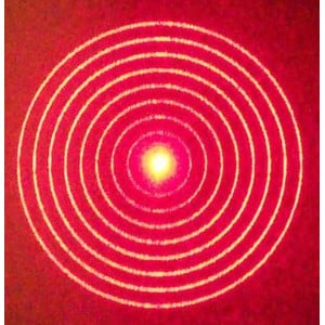Howie Glatter Holographic Attachment for Laser Collimator - Concentric Circle Pattern