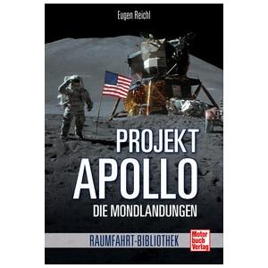 Motorbuch-Verlag Buch Projekt Apollo - Die Mondlandungen