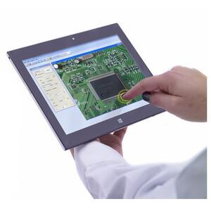 Optika Microscopio digitale B-290TB, E-PLAN, con PC tablet