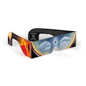 Baader Filtros solares Gafas para eclipse solar Solar Viewer AstroSolar®, plata/dorado, 100 unidades