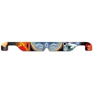Baader Filtri solari Occhiali per osservazione eclissi di Sole Solar Viewer AstroSolar® Silver/Gold