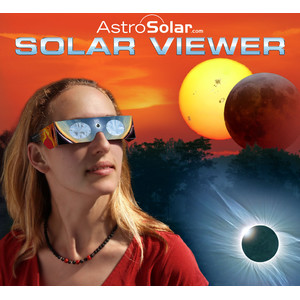 Baader Occhiali per osservazione eclissi di Sole Solar Viewer AstroSolar® Silver/Gold