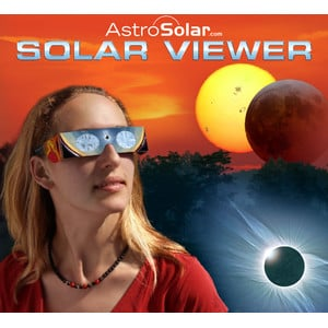 Baader Solar Viewer AstroSolar® Silver/Gold solar eclipse observing glasses, 10 pieces