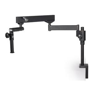 Motic Statif à bras flexible (avec pince de table), colonne Ø 32mm