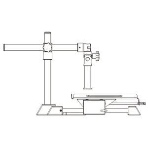 Motic Stativo sbalzani Tavolino posizionamento manuale grande, colonna Ø 32 mm