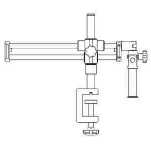 Motic Stativo con braccio orizzontale grande, colonna Ø 32 mm