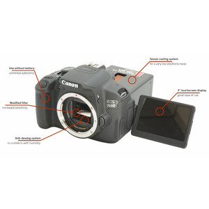 Canon DSLR EOS 700Da cooled