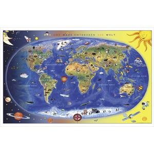 Stiefel Kinderkarte Max und Maxi entdecken die Welt