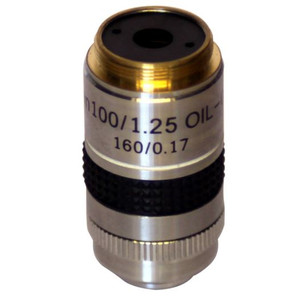 Optika Objective M-059, PLAN, 100x oil with diaphragm for darkfield for B-380, B-500