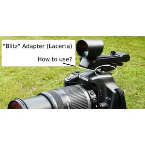 Lacerta Adapter für Leuchtpunktsucher am Blitzschuh