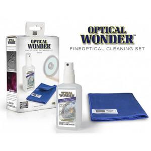 Baader Optische Reinigungsflüssigkeit Optical Wonder 100ml mit Tuch