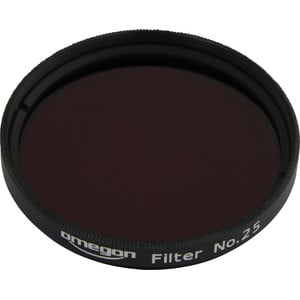 Omegon Filters #25 2'' colour filter, red
