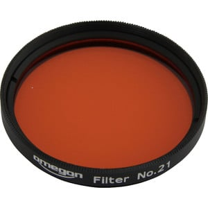 Omegon Filters #21 2'' colour filter, orange