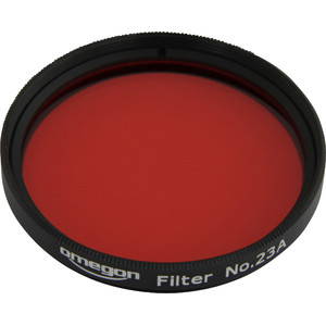 Omegon Filters #23A 2'' colour filter, light red