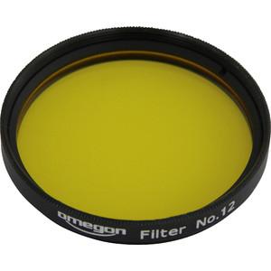Omegon Filtro de color #12 amarillo de 2''