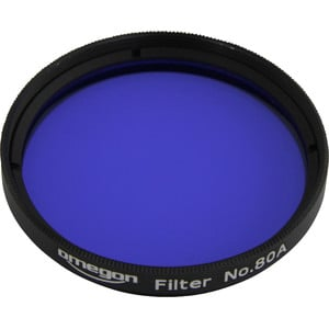Omegon Filters #80A 2'' colour filter, blue