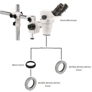 Omegon Objective 2X microscope telecompressor