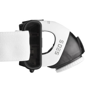 LED LENSER SEO5 head lamp, black