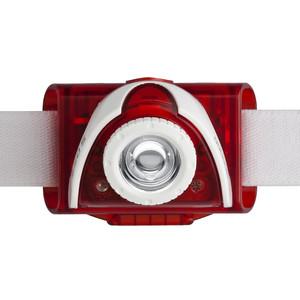 LED LENSER Headlamp SEO5 head lamp, red