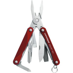Leatherman Multitool SQUIRT PS4 Red