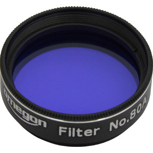Omegon Filters #80A 1.25'' colour filter, blue