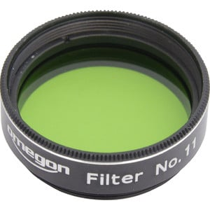 Omegon Filters #11 1.25'' colour filter, green