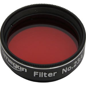 Omegon Filters #23A 1.25'' colour filter, light red