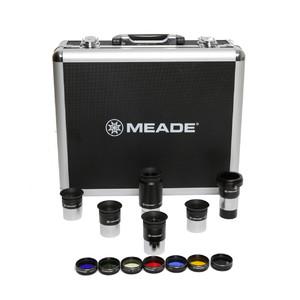 "Meade Okularset Series 4000, 5 Okulare, Barlow-Linse, Filter-Set mit Koffer 1,25"""