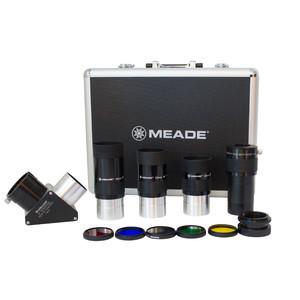 "Meade Okularset Series 4000, 3 Okulare, Zenitspiegel, Barlow-Linse, Filter-Set mit Koffer 2"""